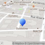 Carte de Graphie-Repro S.A.R.L. Rouen, France