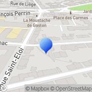 Carte de Concept Serac S.A.R.L. Limoges, France