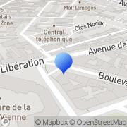 Carte de B.P.C. - Banque Populaire du Centre Limoges, France