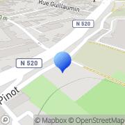 Carte de Couperie Villemaud S.A. Limoges, France