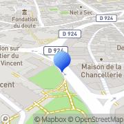 Carte de B.R.O. S.A. - Banque Régionale de l'Ouest Blois, France