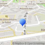 Carte de H.V. Développement S.A.R.L. Aubevoye, France