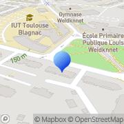 Carte de C.C.R.T. S.A.R.L. - Comptoir Commercial du Ressort Toulousain Blagnac, France