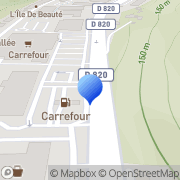 Carte de Ciergerie Marseillaise S.A. Cahors, France