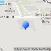 Carte de Etablissements A. Deshors S.A. Brive-la-Gaillarde, France