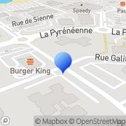 Carte de C.E.S.I. Languedoc Roussillon Midi-Pyrénées Labège, France