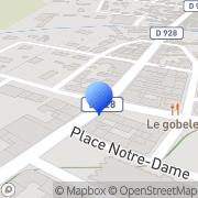 Carte de Devaux et Compagnie S.A. Blangy-sur-Bresle, France