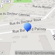 Carte de Beaunier S.A. Gargenville, France