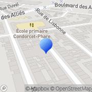 Carte de E.P.M. S.A. - Etablissements Parmentier Mascot Calais, France