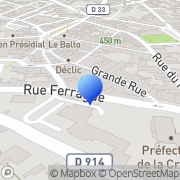 Carte de Codeve Industries S.A.R.L. Guéret, France