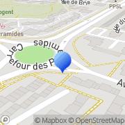 Carte de Doga S.A. Maurepas, France