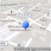 Carte de Castelrivière S.A. Castelnaudary, France