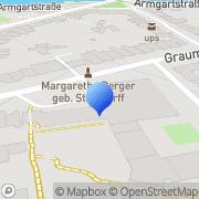 Karte Crown Plaza Hamburg, Deutschland