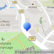 Karte Gert Reuter Tierarzt Heidenheim, Deutschland