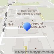 Karte Weber Automaten Service Herbrechtingen, Deutschland