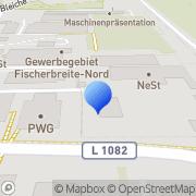 Karte Nest Edelstahltechnik Herbrechtingen, Deutschland
