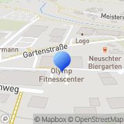 Karte Sport und Fitnesscenter Olymp Bad Neustadt a.d.Saale, Deutschland