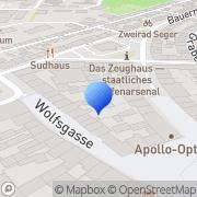 Karte Dr. med. Stefan Hipp Schweinfurt, Deutschland