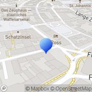 Karte KAHL Orthopädie Schweinfurt, Deutschland
