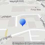 Kort Innoware A/S Lystrup, Danmark