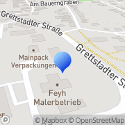 Karte Fleck Gochsheim, Deutschland