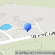 Kort Grønkær Ridecenter & Hestepension Odense, Danmark