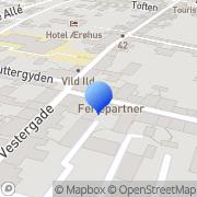 Kort A La Carte Oversættelsesbureau Ærøskøbing, Danmark