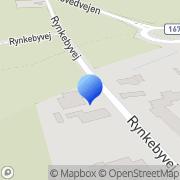 Kort Rynkeby Husflidforening Ringe, Danmark