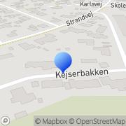 Kort EDB Konsulenten Strandby, Danmark