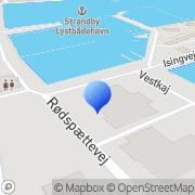 Kort Hermans Vod og Trawlbinderi Strandby, Danmark