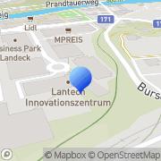 Karte Bauleitung & Baumanagement Andreas Siess Landeck, Österreich