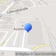 Karte UNSER LAGERHAUS Warenhandels GmbH Reutte in Tirol, Österreich