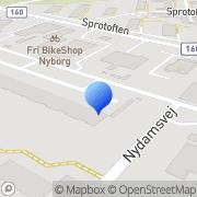 Kort Ejerforeningen Helletoften Nyborg, Danmark