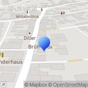 Karte Biesterfeld Augenoptik GmbH Hallstadt, Deutschland