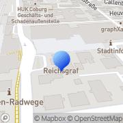 Karte Gemeinschadtspraxis Dr. Iwan u. Thein Coburg, Deutschland