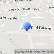 Map PT Amardeep Indo Sakti South Tangerang, Indonesia