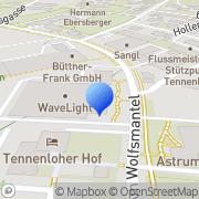 Karte Wave Light GmbH Erlangen, Deutschland