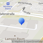 Karte Hollfelder Gühring GmbH Nürnberg, Deutschland