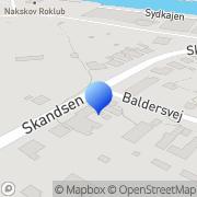 Kort TAP Transport Nakskov, Danmark