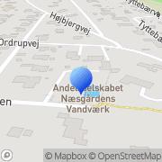 Kort Næsgårdens Vandværk, Andelsselsk. Fårevejle, Danmark