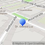 Karte Vermessung Büro Kofler ZT GmbH - Zweigniederlassung - Dipl.Ing. Alois Kofler Innsbruck, Österreich