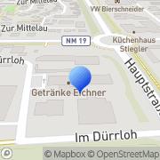 Karte Logopädische Praxis Dorothea Grammel Mühlhausen, Deutschland