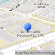 Karte Gesundheitsamt Neumarkt in der Oberpfalz, Deutschland