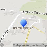 Kort Brommeparken Munke Bjergby, Danmark