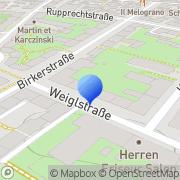 Karte ICS Ottmar Ostertag München, Deutschland