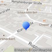Karte Meditationszentrum München, Deutschland