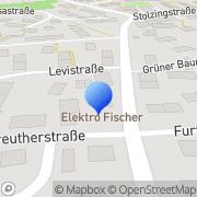 Karte Fischer Haustechnik GmbH Bayreuth, Deutschland