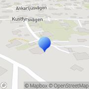 Karta Abh-Consulting AB Torslanda, Sverige