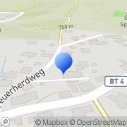 Karte Schützengesellschaft Tell Neubau Fichtelberg, Deutschland