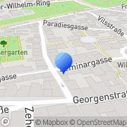 Karte Betten Nindl Amberg, Deutschland